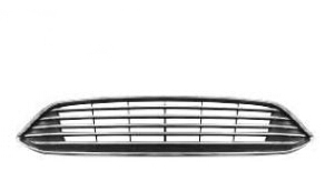 Grila radiator Ford Focus 3, 10.2014-, Cromat/Negru, F1EJ-8200-A-01