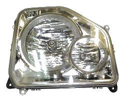 Far Jeep Liberty (Kk), 09.2007-12.2013, Manual, tip bec H10+H13, omologare SAE , cu lampa ceata fata, 55157339AE, Stanga