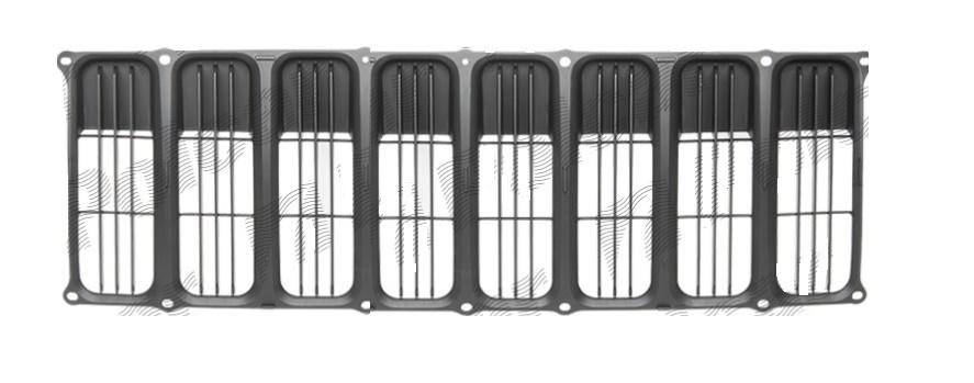 Grila radiator Jeep Compass (Pk), 01.2007-02.2011, 0YS24XXXAA, 341505