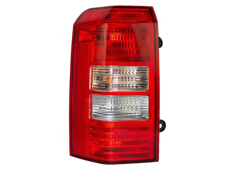 Stop spate lampa Jeep Patriot (Pk), 01.2007-2008, spate,omologare SAE, cu suport bec, tip USA, 3 gauri, 5116239AB; 5116239AC, Stanga