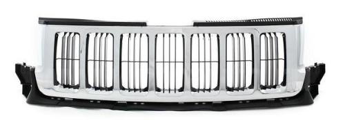 Grila radiator Jeep Grand Cherokee (Wl), 07.2010-07.2013, crom/gri, 55079377AC, 343105