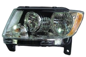 Far Jeep Grand Cherokee (Wk2), 04.2013-, Manual, tip bec H11+HB3, omologare SAE, 68110997AA; 68110997AB; 68110997AC; 68110997AD, Stanga, marca TYC