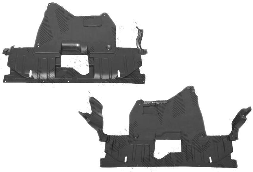 Scut motor Honda Accord (Cl/Cm/Cn) Sedan/Combi (Eu), 10.2002-09.2005, Fata, 383334-6, ABS+PVC