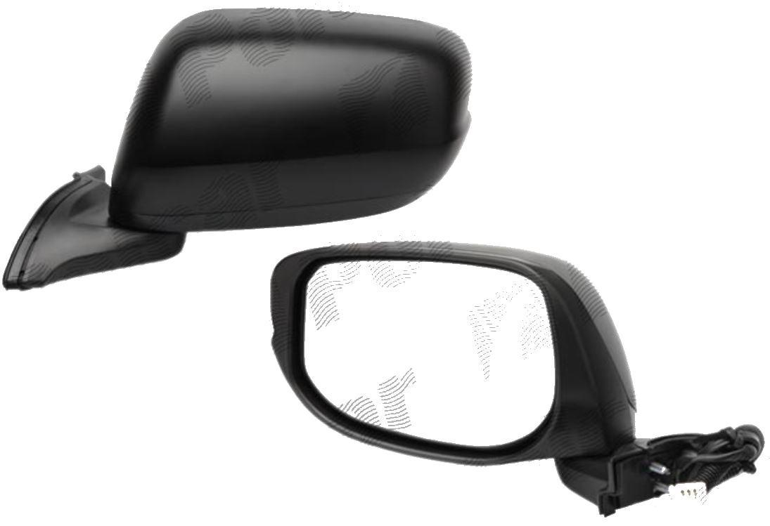 Oglinda exterioara Honda Jazz / Fit (Ge) 10.2008-12.2015 partea dreapta View Max convex carcasa prevopsita grunduita reglare electrica fara incalzire