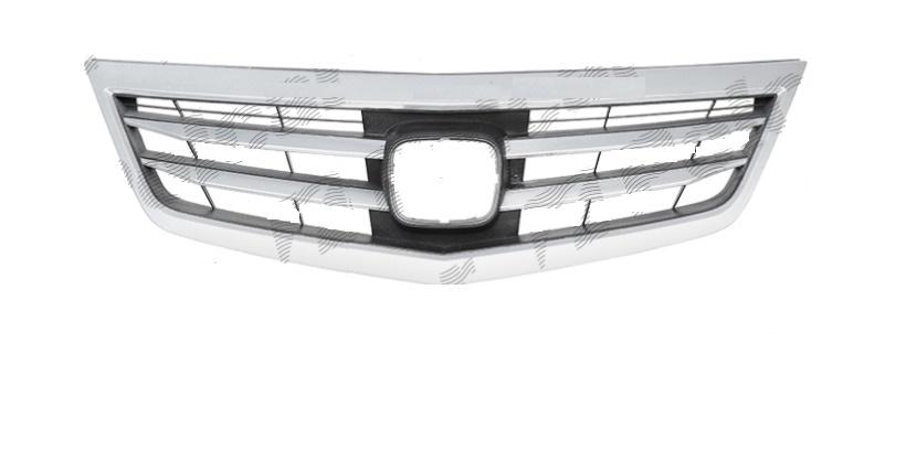 Grila radiator Honda Accord (Cu2), 2013-, 71121TA0A11, 38D105 cu ornament cromat