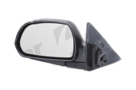 Oglinda exterioara Hyundai Elantra (Xd), 01.2004-09.2006, Hyundai Elantra (Xd), 06.2000-12.2003 , partea Stanga, culoare sticla crom , sticla convexa, cu carcasa grunduita, cu incalzire, ajustare electrica, 87610-2D130