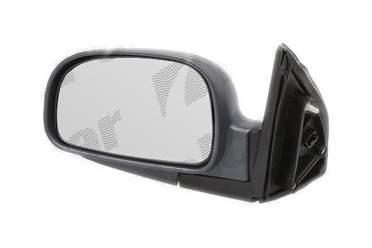 Oglinda exterioara Hyundai Santa Fe (Cm), 04.03-06.04, partea Dreapta, culoare sticla crom , sticla convexa, cu carcasa grunduita, cu incalzire, ajustare electrica, 87620-26820