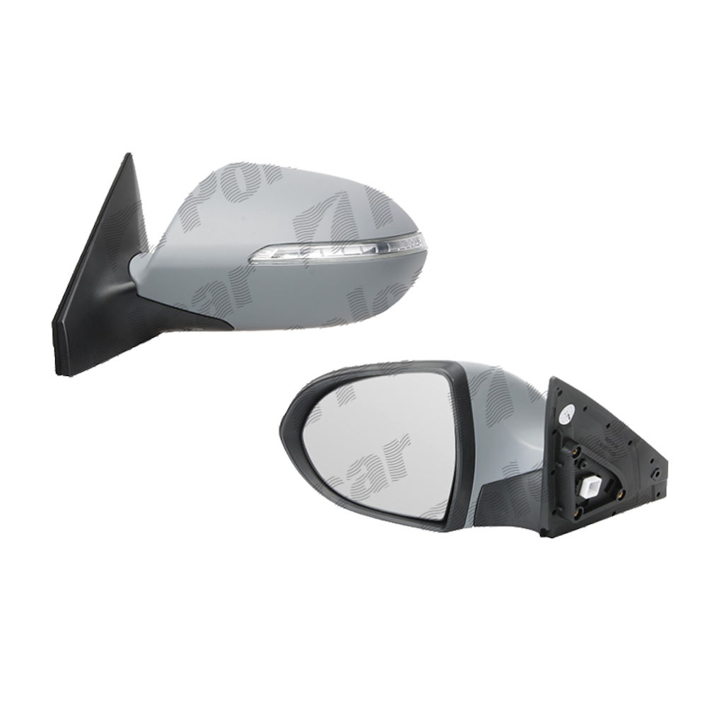 Oglinda exterioara Kia Sportage (Sl) 06.2010-12.2015 Partea Stanga Crom Convex Electrica Fara Incalzire
