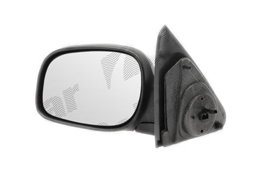 Oglinda exterioara Land Rover Freelander (Ln), 01.2004-11.2006, Land Rover Freelander (Ln), 01.2000-12.2003 , partea Stanga, culoare sticla crom , sticla convexa, cu carcasa neagra, cu incalzire, ajustare electrica,