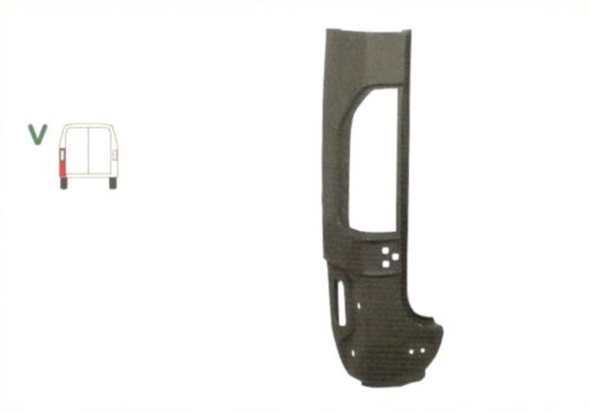 Stalp spate Mercedes Sprinter (W901-905) 208-416 01.1995-2006 , partea Spate Stanga, Inaltime 980mm, 1/2,
