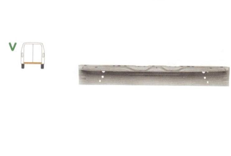Panou spate Mercedes Sprinter 209-524 07.2006-10.2013, Vw Crafter (2e) 12.2005-2017 , partea Spate , Interior,
