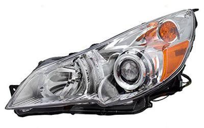 Far Subaru Outback (BR), 09.2009-10.2015, Legacy 2009-12.2014 versiune USA, partea Stanga, manual, tip bec H7+HB3, omologare americana USA, TYC