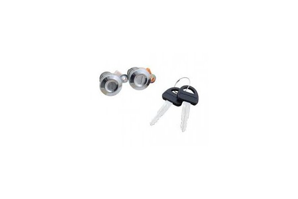 Set yale inchidere Suzuki Vitara 5-Usi, 1996-12.2003, cu chei, cu 2 butuci blocare usa, usa fata, stanga/dreapta, 82201-60860 + 82201-608650; 82201-60860/50,