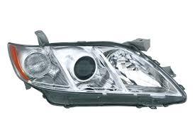 Far Toyota Camry (Xv40) 2008-2009 Base , 2006-2009 Le/Xle, Manual,tip bec H11+Hatchback3, omolare SAE , versiunea USA, argintiu., 81170-06201; 81170-06202; 81170-33651, Stanga