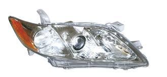 Far Toyota Camry (Xv40) 2008-2009 Base , 2006-2009 Le/Xle, Tip bec H11+Hatchback3, omologare SAE, versiunea USA, argintiu., 81130-06201; 81130-06202; 81130-33651, Dreapta