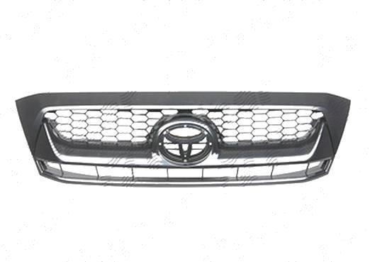 Grila radiator Toyota Hilux (N70), 2009-01.2012, negru, 819205-4