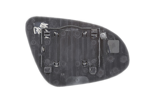 Geam oglinda Toyota Camry (Xv50), 09.2011-, Toyota Corolla (E16), 07.2013-, Toyota Prius C (Nhp10), 12.2011-, partea Stanga, culoare sticla crom , sticla convexa, cu incalzire, , 81C3545E