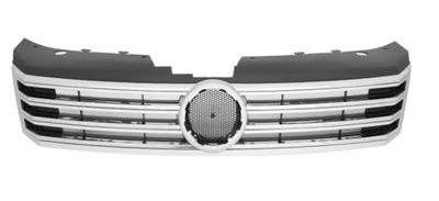 Grila radiator VW Passat (B7 (36)), 11.2010-2015, crom/silver, 95D105-1