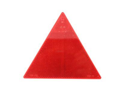 Catadioptru reflectorizant triunghi Aftermarket, culoare rosu, fixare cu 2 suruburi, inaltime 130 mm , 1 buc.