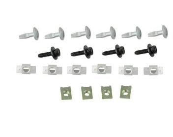 Set cleme fixare scut motor Citroen C5, 05-08 Aftermarket RX90212