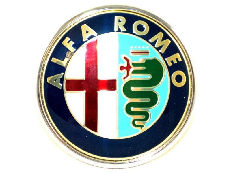 Emblema capota Alfa Romeo 147, 01- Aftermarket 1404059X