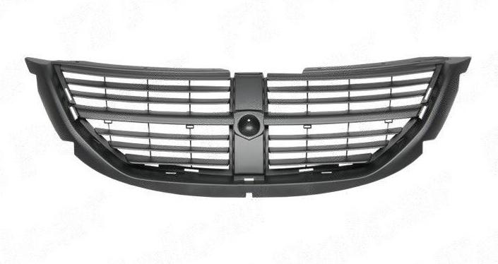 Grila radiator Dodge Caravan (Rg/Rs), 01.2005-, negru, 4857957AA, 242105