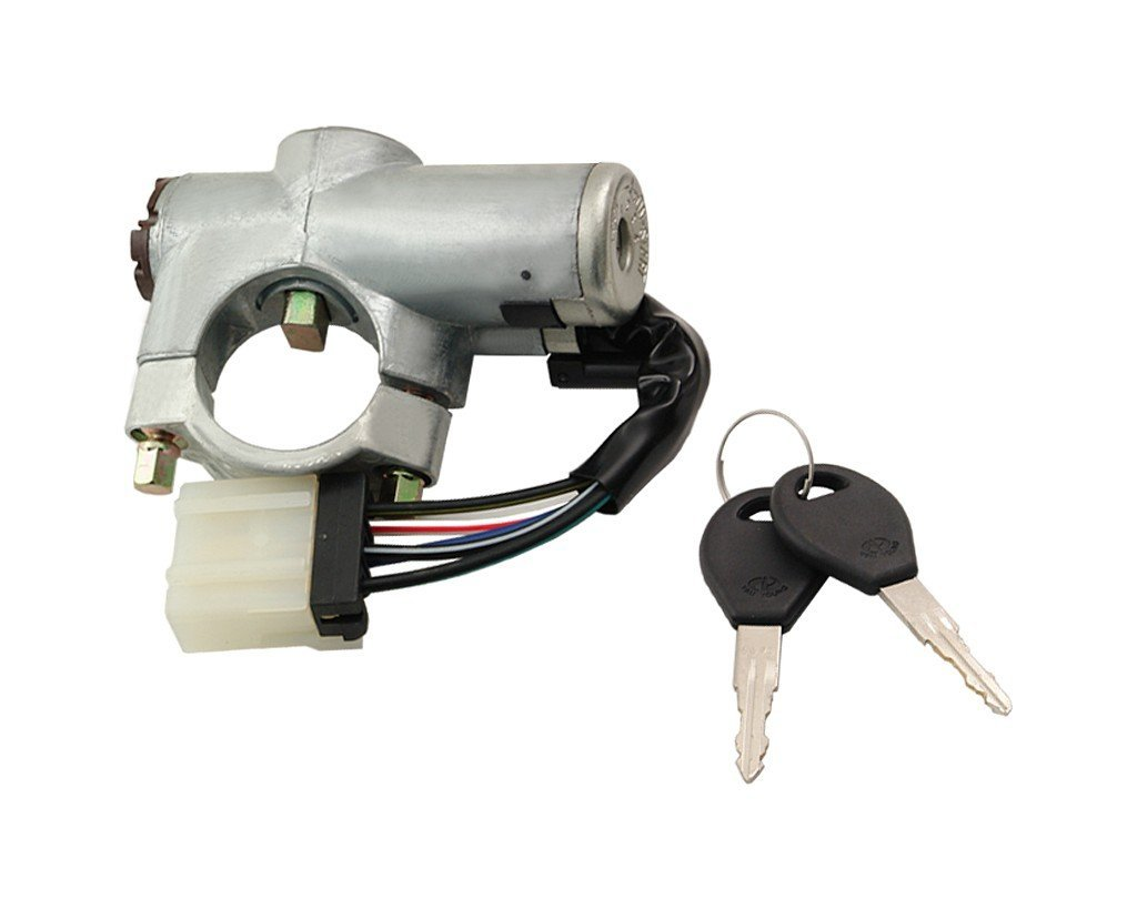 Contact cheie pornire Nissan Primera (P10) 1992-09.1997, cu chei, cu carcasa, 48700-85J00,