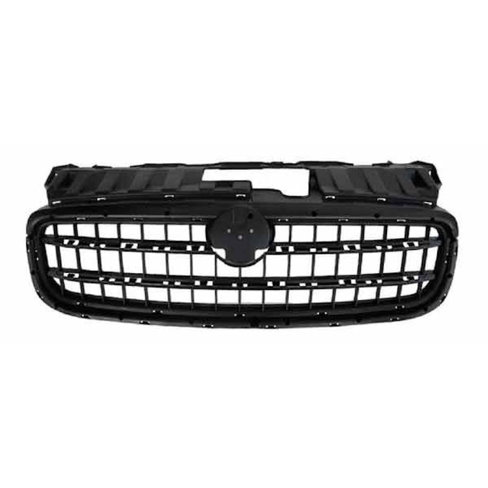 Grila radiator, masca fata Fiat Linea (323), 05.2013-, parte montare centrala, cu 2 ornamente negre, 30B10510, Aftermarket