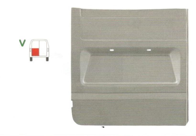 Panou reparatie usa Ford TRANSIT (V184/5), 05.2000-04.2006; Transit/Tourneo (V347/8) 05.2006-04.2013 Model cu 2 usi spate, partea stanga, pana la geam , usa spate,