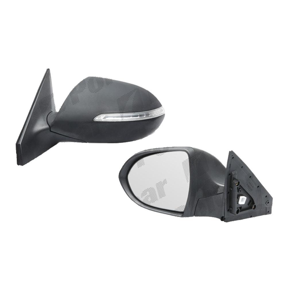 Oglinda exterioara Kia Sportage (Sl) 06.2010-12.2015 Partea Stanga Crom Convex Electrica Cu Incalzire cu 7 pini,