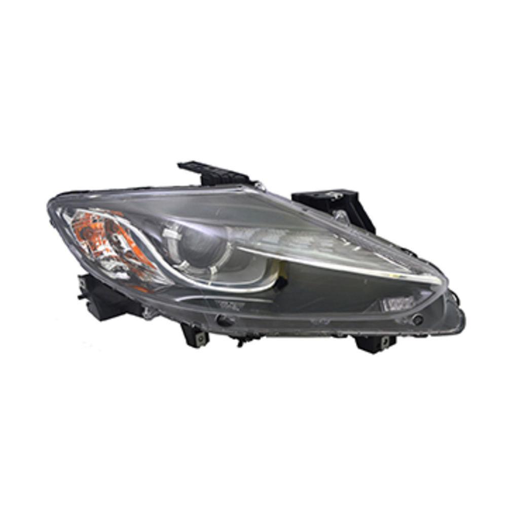 Far Mazda Cx-9 (Tb) 10.2012-, Dreapta, tip bec D4S+Hb3, reglare electrica, cu motoras, SAE, varianta SUA, TYC, TK24-51-031,