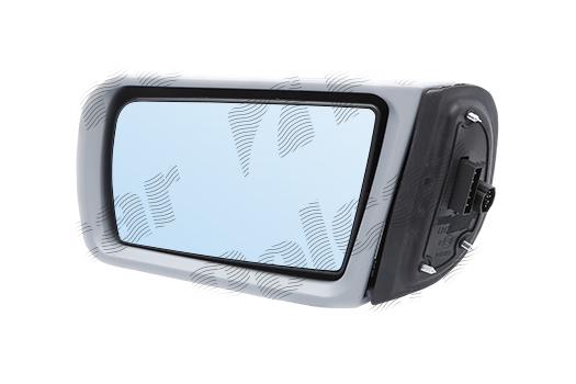 Oglinda exterioara Mercedes (W202), 03.1993-03.2001, Mercedes Clasa e (W210), 06.1995-03.2003, Mercede s- Class (W140)1995-1998, partea Stanga, culoare sticla culoare albastra , sticla asferica, cu carcasa grunduita, cu incalzire , ajustare electrica,