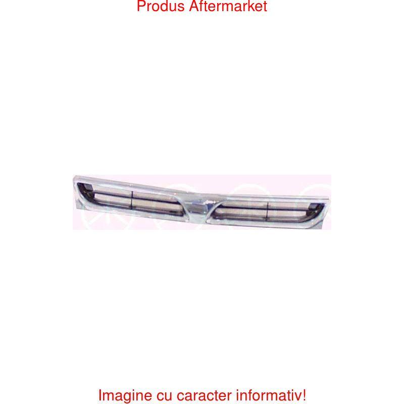 Set faruri tuning Mercedes Clasa C (W203) 05.2000-03.2007, Transparent negru, omologare ECE reglare pneumatica, Stanga , Dreapta