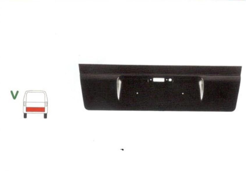 Segment reparatie haion spate Mercedes Vito, Clasa V, 1996-2003 , Partea Centru, hayon Spate, inaltime 380 mm ,