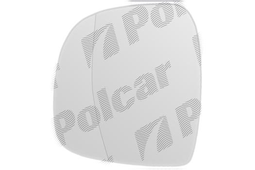 Geam oglinda Mercedes Vito/ Viano (W639), 01.2003-10.2010, Mercedes vito/ Viano (W639), 01.2003-10.2010 , partea Stanga, culoare sticla crom, sticla asferica,