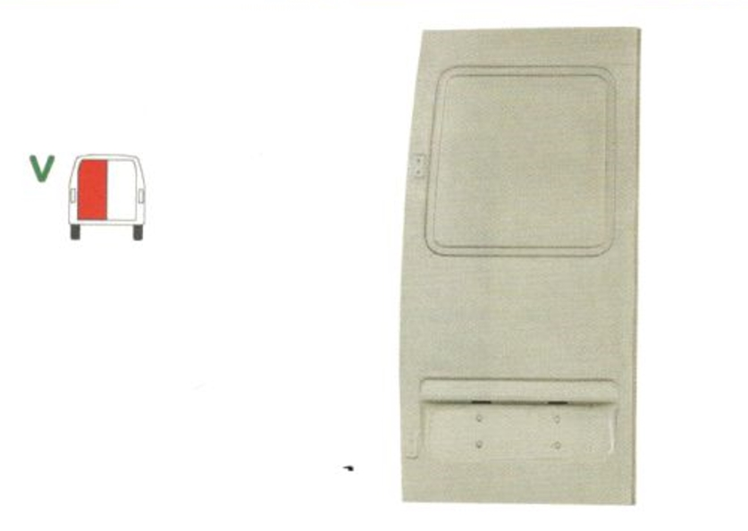 Element reparatie usa Mercedes SPRINTER 208-416 (W901-905), 01.1995-2006, partea stanga, usa spate,
