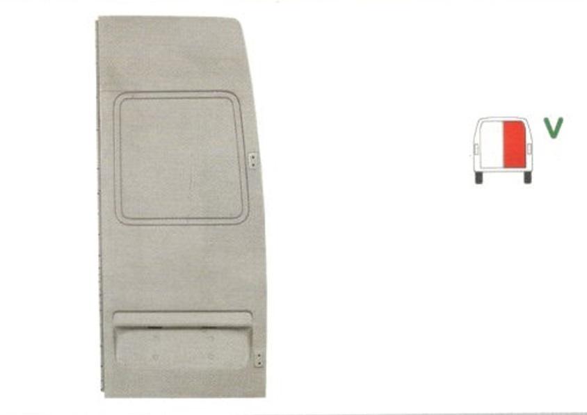 Usa Mercedes Sprinter 208-414, 01.95-03.00, Mercedes Sprinter 208-414, 04.00-12.02, Mercedes Sprinter/Classic 208-416, 01.03-, Vw Lt 2 05.96-12.05, Spate, partea Dreapta, Pentru model cu plafon inaltat,