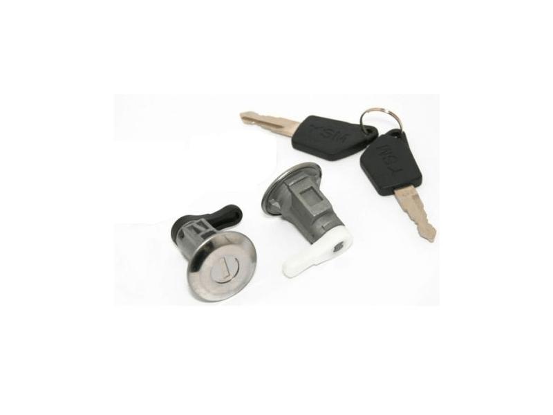 Set yale inchidere Peugeot 106 (1), 09.1991-1996, cu chei, cu 2 butuci blocare usa, stanga/dreapta, usa fata,