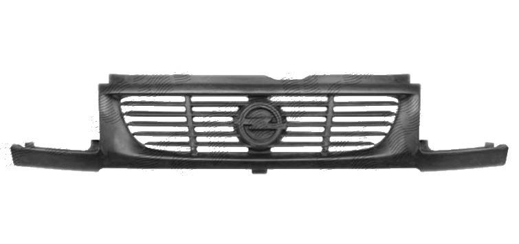 Grila radiator Opel Movano, 07.1998-12.2003, 6041054Z, din fibre de sticla