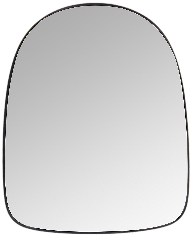 Geam oglinda Renault Clio 3 (R0/1), 05.2009-, Renault Modus (F/Jp0), 11.2007- , partea Stanga, culoare sticla crom, sticla asferica,