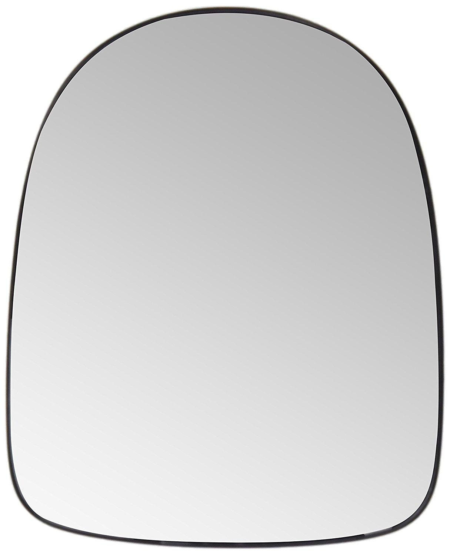 Geam oglinda Renault Clio 3 (R0/1), 05.2009-, Renault Modus (F/Jp0), 11.2007- , partea Dreapta, culoare sticla crom, sticla convexa,