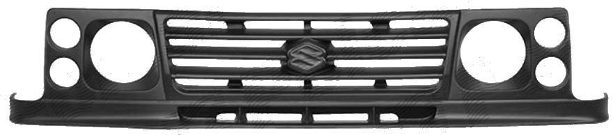 Grila radiator Suzuki Samuraj (Sj), 1996-12.1998, 7408051Z din fibra de sticla