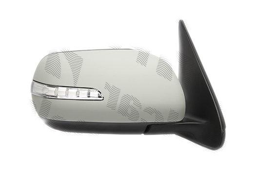 Oglinda exterioara Suzuki Grand Vitara (Jt), 2009-, Suzuki Grand Vitara Xl-7, 2009-, Suzuki Grand Vitara Xl-7, 012009-, partea Dreapta, culoare sticla crom, sticla convexa, cu carcasa grunduita , cu incalzire , ajustare electrica, 84701-78K30-XXX