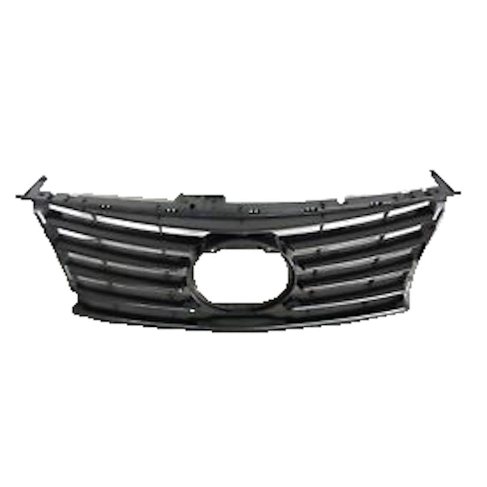 Grila radiator, masca fata Lexus Is, 04.2013- (Fara Sport), parte montare centrala, gri/silver, 80D105, Aftermarket