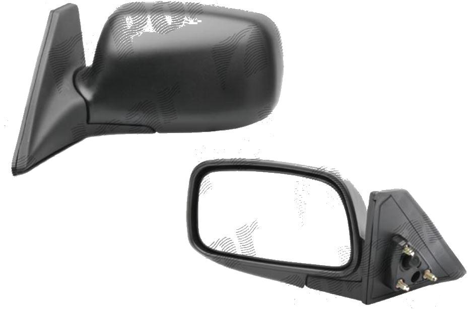 Oglinda exterioara Toyota Tercel Sedan 01.1994-12.1999 Partea Stanga Crom Convex, manuala Fara Incalzire