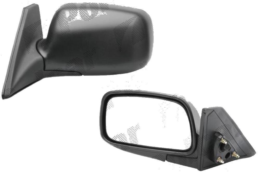 Oglinda exterioara Toyota Tercel Sedan 01.1994-12.1999 Partea Dreapta Crom Convex, manuala Fara Incalzire