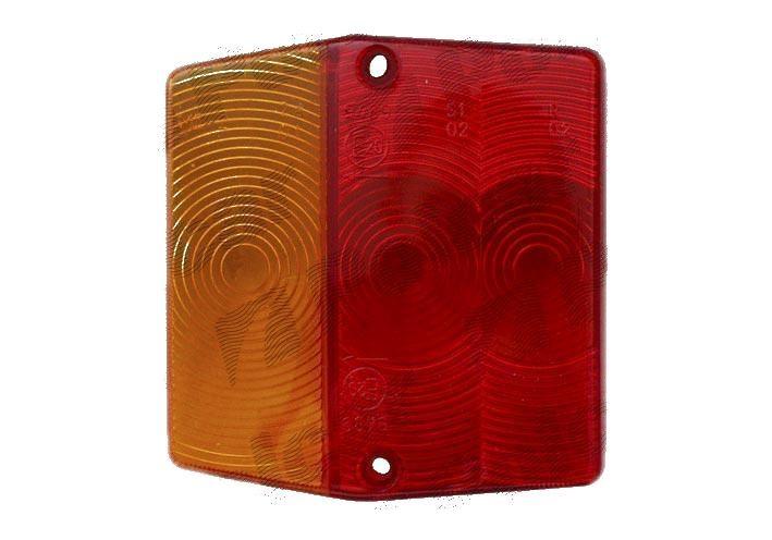 Sticla stop spate dispersor lampa universala Aftermarket partea Dreapta/ Stanga pentru 9900876E