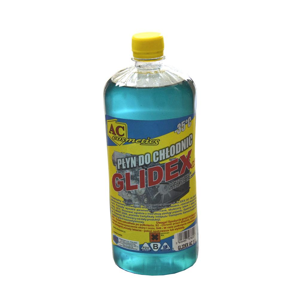 Antigel concentrat Glidex G11 albastru 1 litru