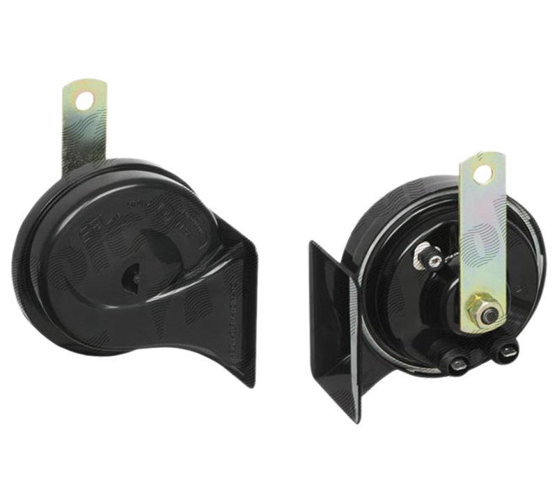 Set 2 claxoane auto SRLine 12V/420+510Hz tip goarna cu conectori 2x(6,3-0,8)