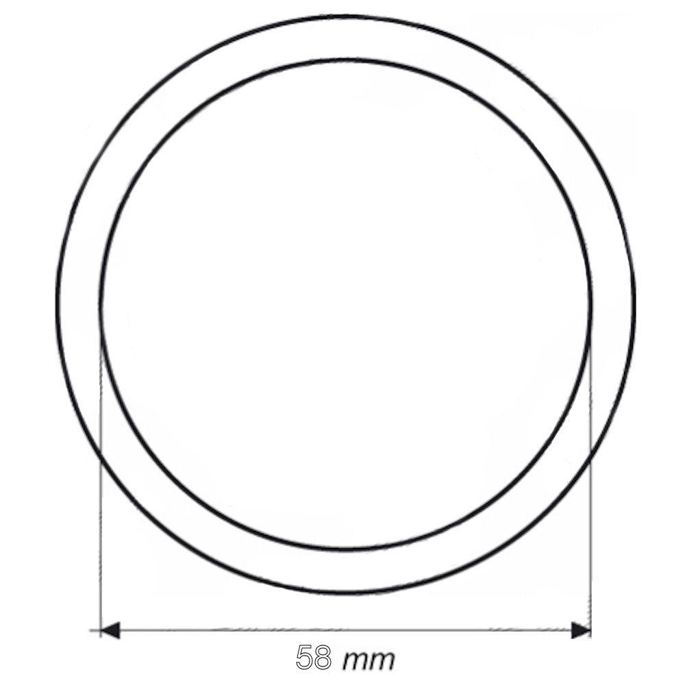 Garnitura termostat oring, 58x4mm, pentru Mercedes , Iveco, Man